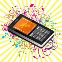 Et spraglet billede af en mobil